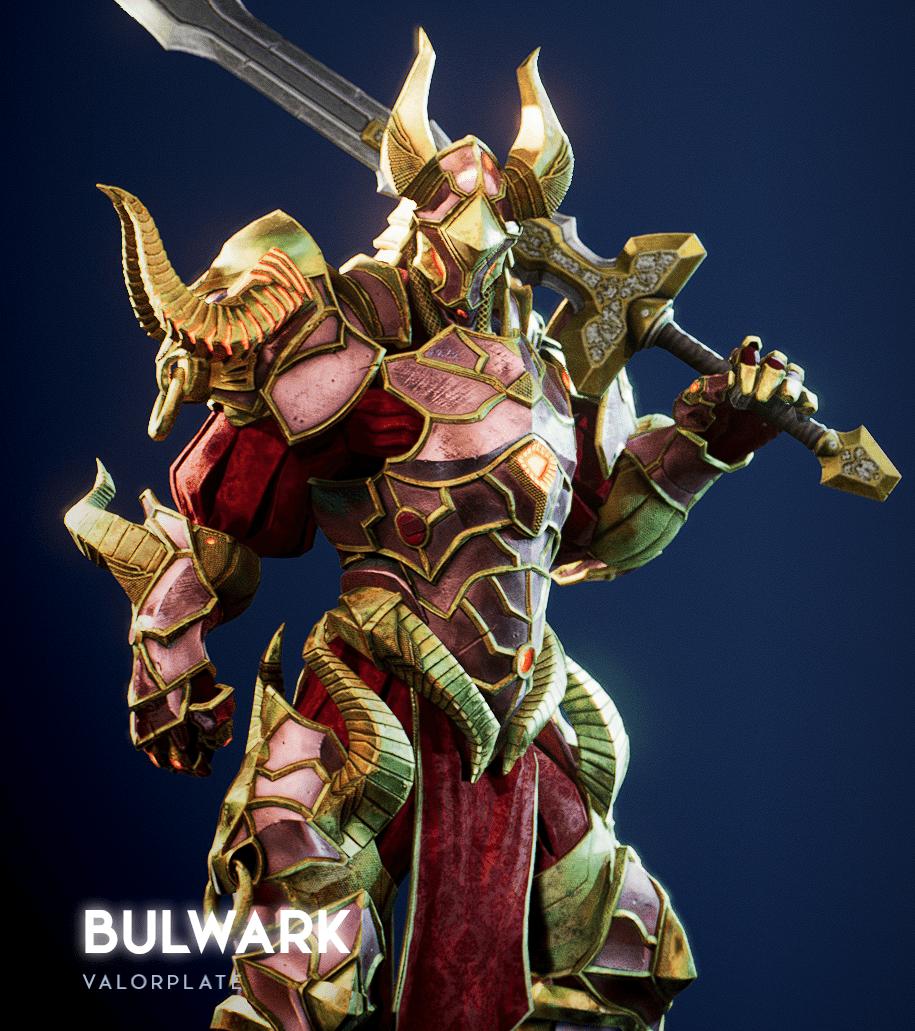 Bulwark Godfall Valorplates