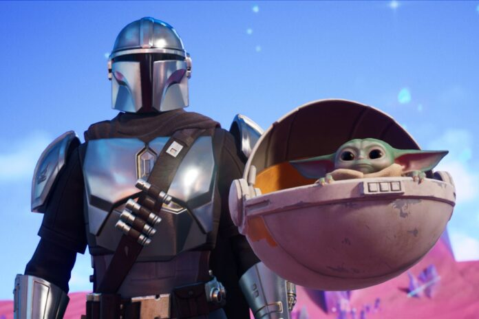 How to get Baby Yoda in Fortnite