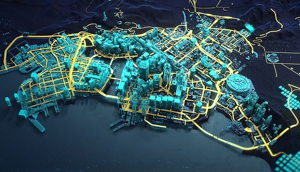 Cyberpunk 2077 Night City Districts