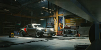 Johnny Silverhand's Porsche 911 in Cyberpunk 2077