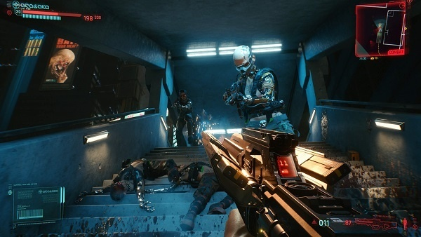 Cyberpunk 2077 grenades