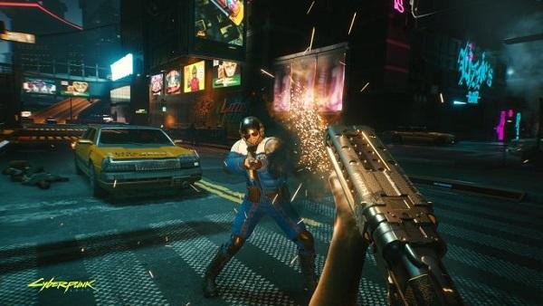 Cyberpunk 2077 weapons cheats