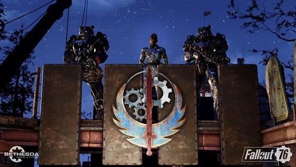 Fallout 76 Steel Dawn Fact Finder pistol