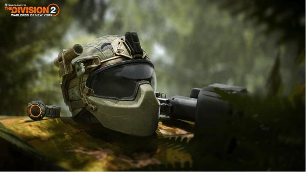 The Division 2 outguard ballistic helmet