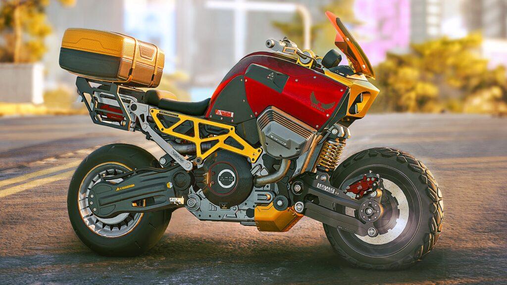 Cyberpunk 2077 Bike