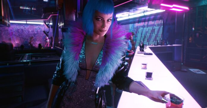 Cyberpunk 2077 The Information Braindance