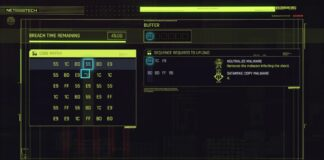 Cyberpunk 2077 Hacking Puzzles