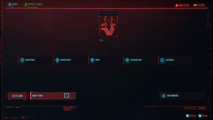 How to Skip Time in Cyberpunk 2077