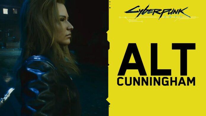 Alt Cunningham Romance Cyberpunk 2077