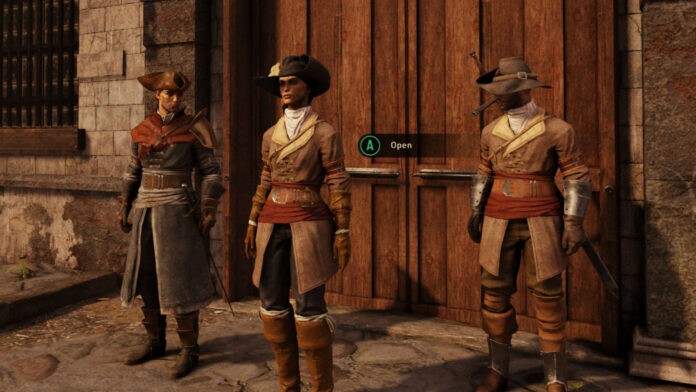 Greedfall Naut outfit