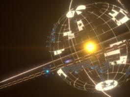 Titanium in Dyson Space Program