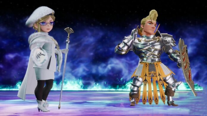 Selene And Dag In Bravely Default 2