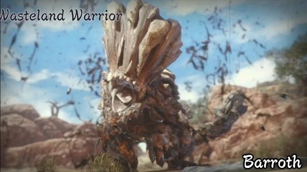 Barroth Monster Hunter Rise