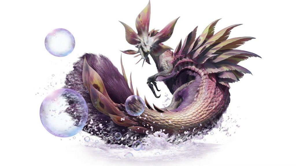 Monster Hunter Rise Mizutsune