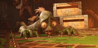 Oddworld Soulstorm sligs tie up