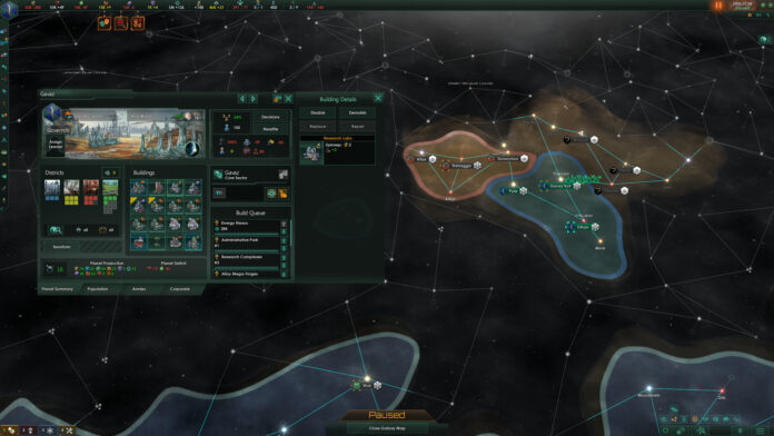 Stellaris Influence