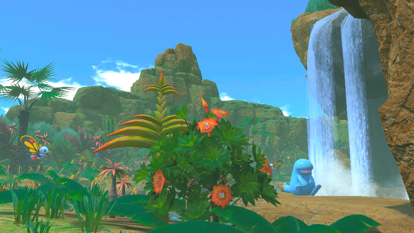 How to Get Behind the Waterfall in New Pokémon Snap