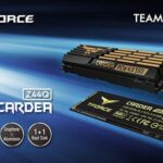 TEAMGROUP Launches the High-speed T-FORCE CARDEA Z44Q PCIe4.0 SSD
