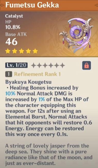 Genshin Impact Fumetsu Gekka