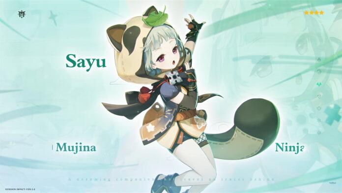 Genshin Impact Sayu Ascension