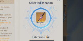 Fate Points Genshin Impact