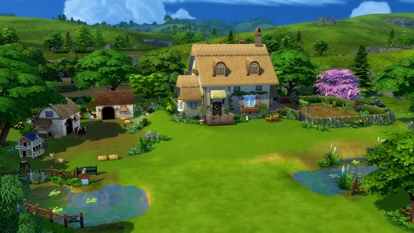 How to Build a Pond in The Sims 4: Cottage Living