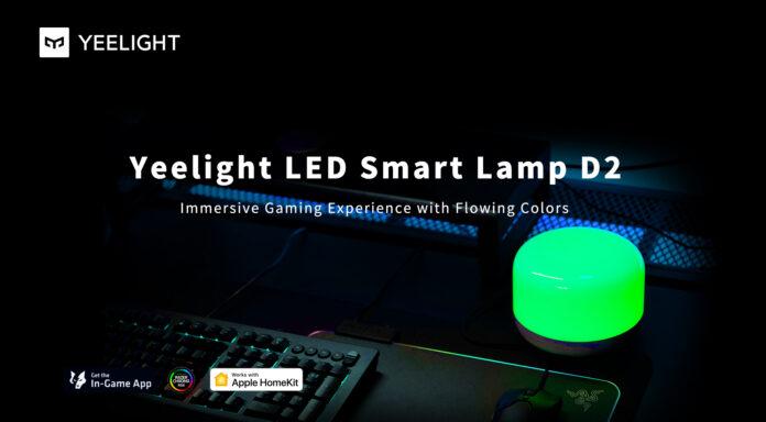 Yeelight Smart Lamp D2