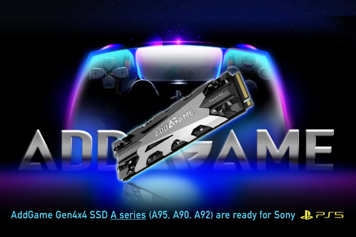 Addlink PS5 SSDs