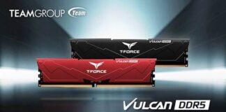 T-FORCE VULCAN DDR5 memory