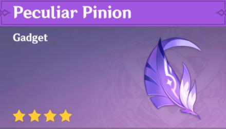 Peculiar Pinion Genshin Impact